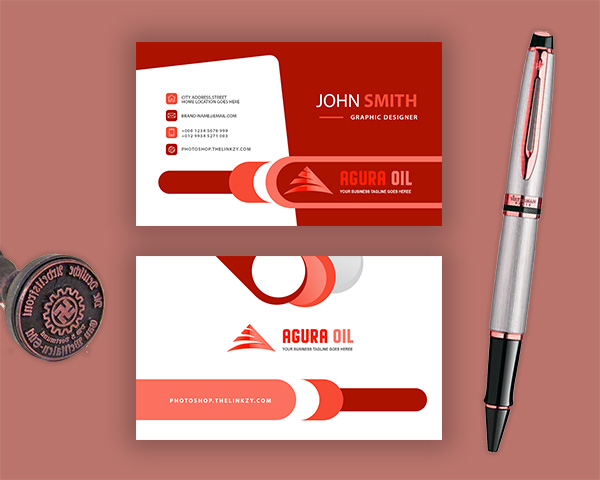 Agura-oil-photoshop-business-card--template